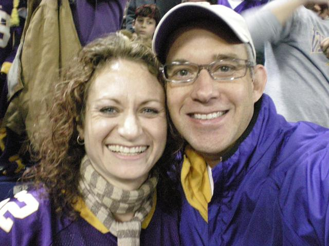 Tom & Wendy @ Vikings.