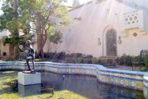 Courtyard of the McNay Museum, San Antonio