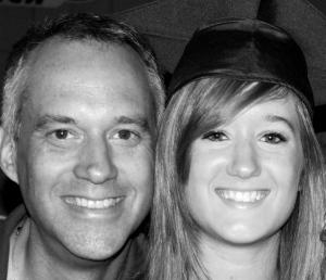 Dad & Madison @ Graduation 05 2010