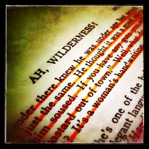 lines Ah Wilderness