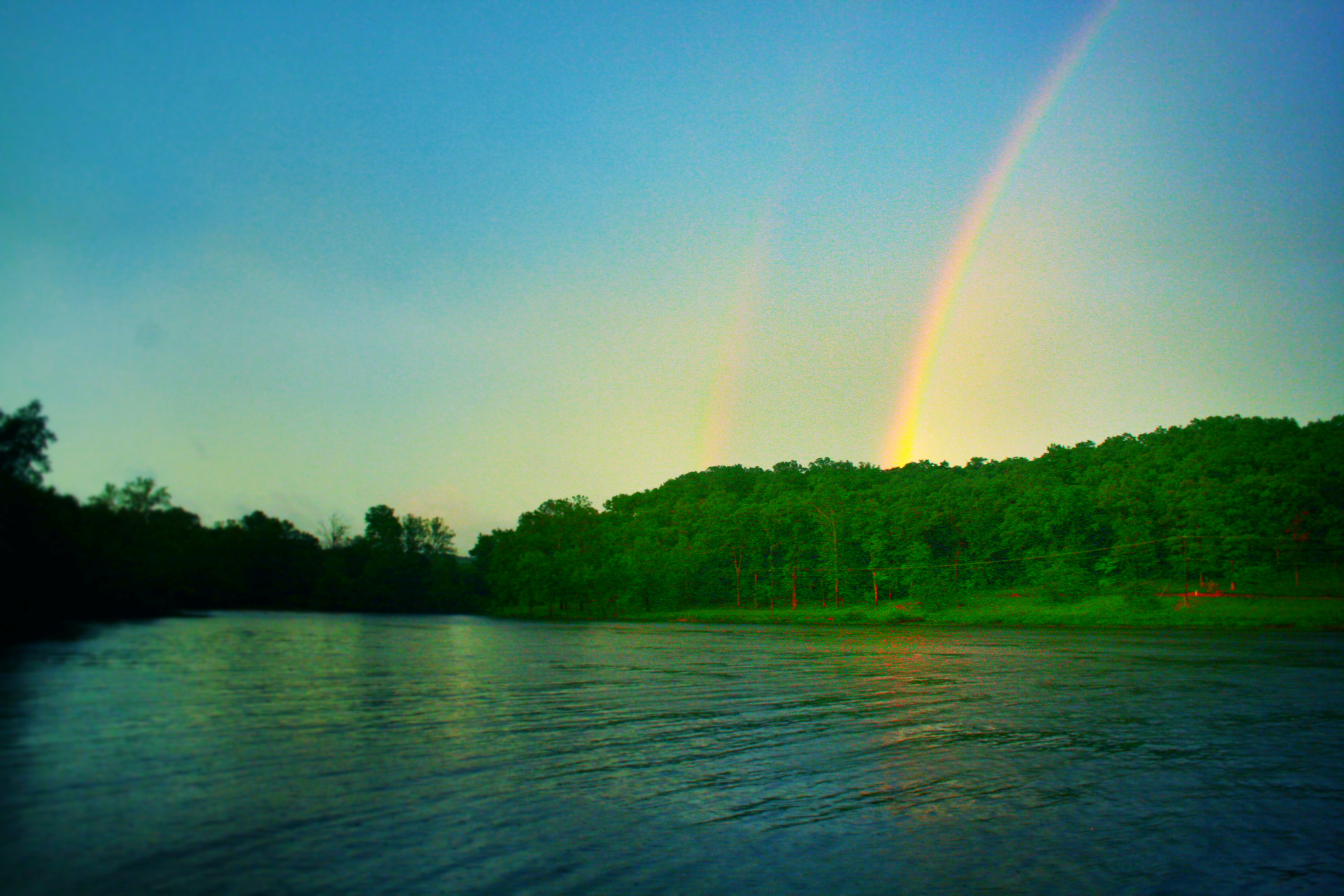 Right Here, Under the Rainbow