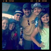 2013 06 16 Dads & kids at ICubs
