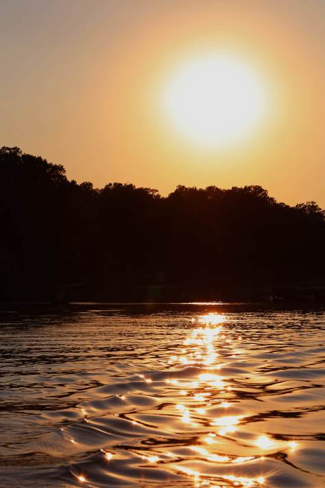 2013 07 10 Sunset Over Lake of the Ozarks LR