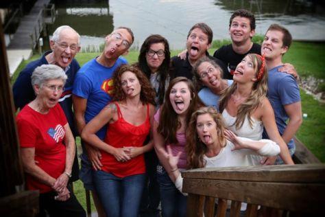 Crazy Family LR