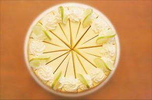 Wendy's key lime cheesecake.