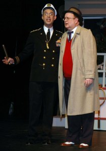 "With Sherman Van Zee in USP's ""Christmas Post"" 2006"