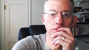 Tom Self at Desk