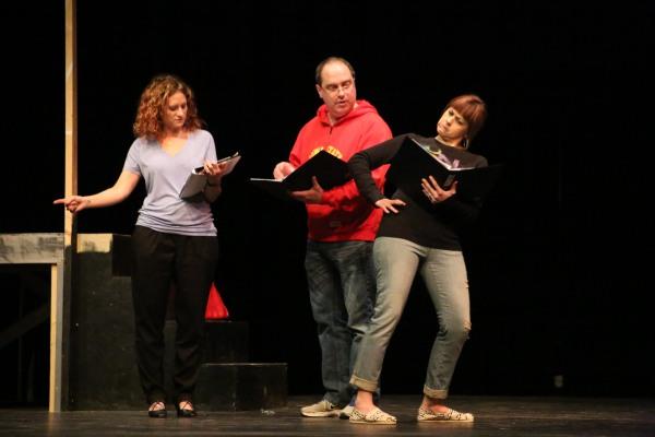 Wendy Vander Well, Doug DeWolf (Dean De Haas) and Jana De Zwarte (Marian De Haas).
