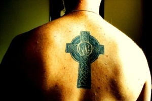 celtic cross tat