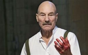 Patrick Stewart as Macbeth.