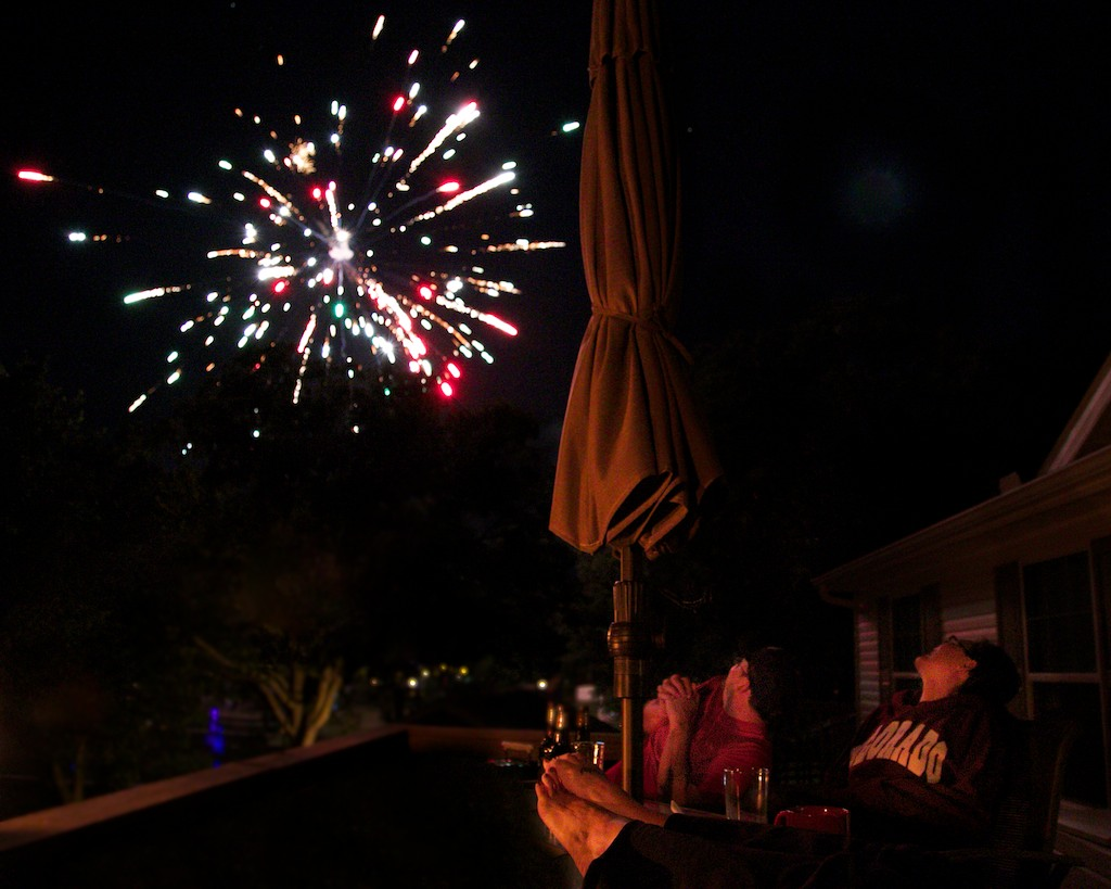 2014 07 04 Fireworks over the deck 035