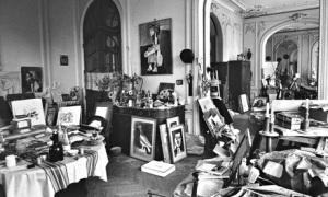 Picasso's studio