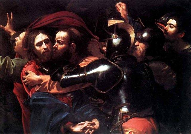 caravaggio-judas-kiss-taking-of-christ