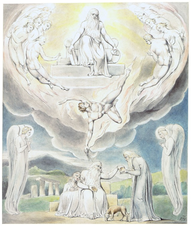 art by William Blake