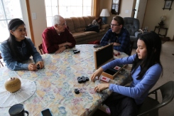 """Nothing says """"Thanksgiving"""" like a good game of Texas Hold 'Em!"""