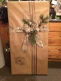 Wendys gift wrapped by Thistles