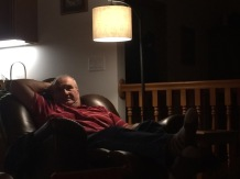 Grandpa Ed in his Chair