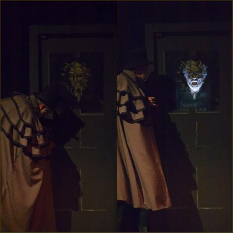 Marleys Ghost Appears