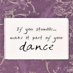 stumble dance