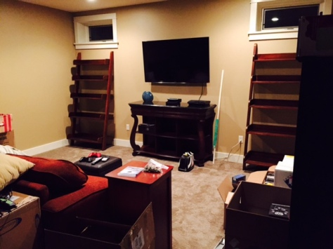 great room basement