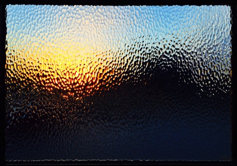 Sunset Through the Side Door
