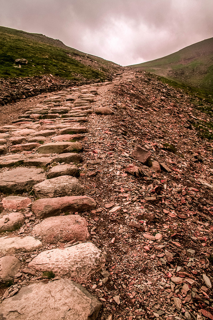 """""""Relatively easy path to the summit"""" photo by Brian Taylor via Flickr"""