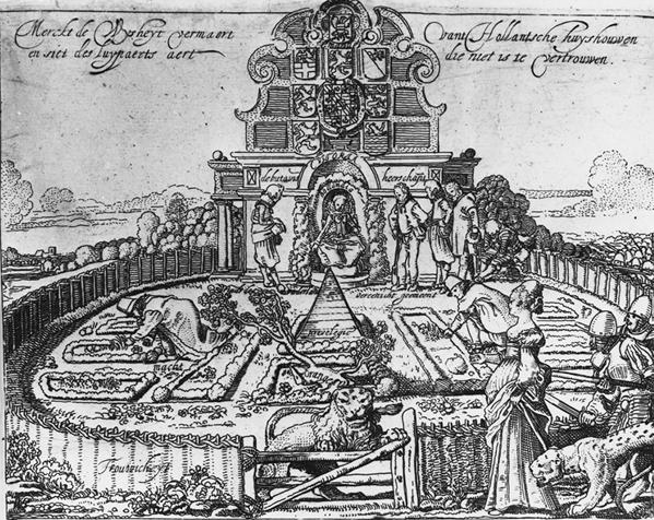 willem buytewech allegory of the deceitfulness of Spain