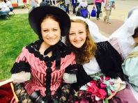 Wendy with Tulip Queen Eleanor Witt
