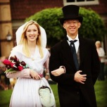 Got to be honorary dad to escort Megan for the Tulip Court