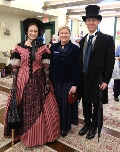 With Pella Historical Executive Director, Kathy Miller