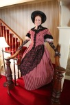 Wendy as Maria Scholte at the Scholte House Museum