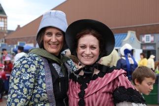 Wendy with Lisa Vande Lune.