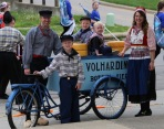 The Vande Lune cheese cart.