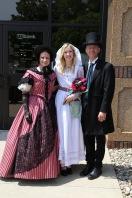 Pre-coronation with Megan Atkins.