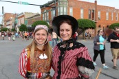 Wendy with cousin Kathryn Van Tuyl.
