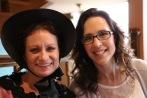 Wendy and Becky at Pella Opera House.