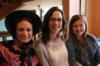 Wendy with the Roose ladies at Pella Opera House.