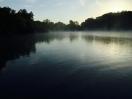 Morning on the lake.