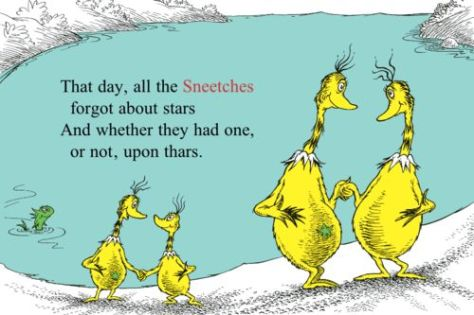 sneetches quote