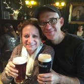 Tom and Wendy at the White Hart Pub