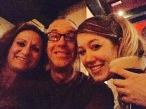 Selfie taken inside The Jazz Bar, Edinburgh.