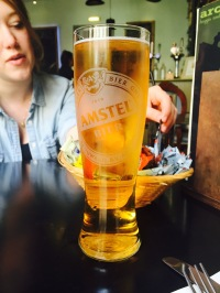 They have Amstel Light ON TAP!