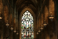 St. Giles Cathedral interior.