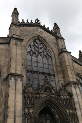 The front of St. Giles.