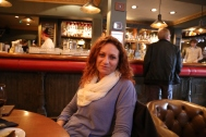 Wendy at Queen's Arms Pub.