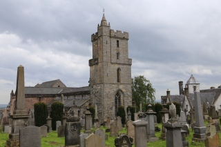 Holy Rude Church and graveyard, Stirling, Scotland.