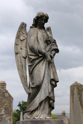 Angel in Holy Rude Church Graveyard, Stirling, Scotland.