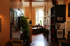 """Elephant House coffee shop """"the birthplace of Harry Potter"""" where Rowling wrote."""