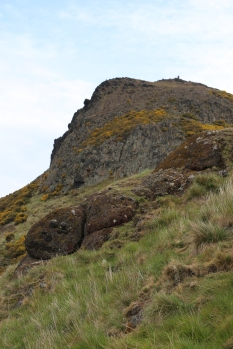 Arthur's Seat from about half-way up.