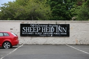 We were going to stop at the Sheep Heid Inn, but didn't want to wait an hour for them to open.